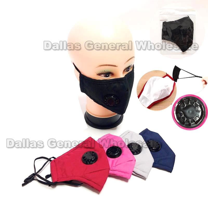 Anti-Pollen Filter Cotton Face Masks Wholesale