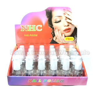 All Clear Nail Polish Wholesale - Dallas General Wholesale