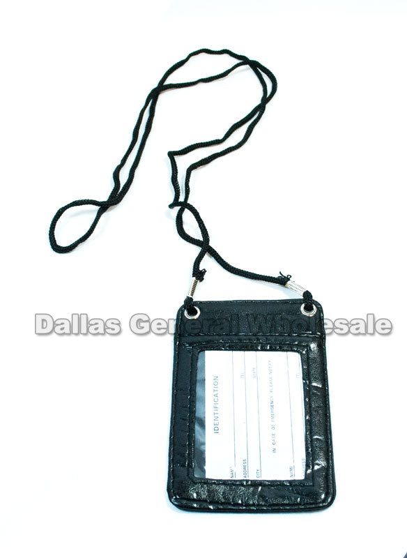 ID Card Holder Lanyards Wholesale - Dallas General Wholesale