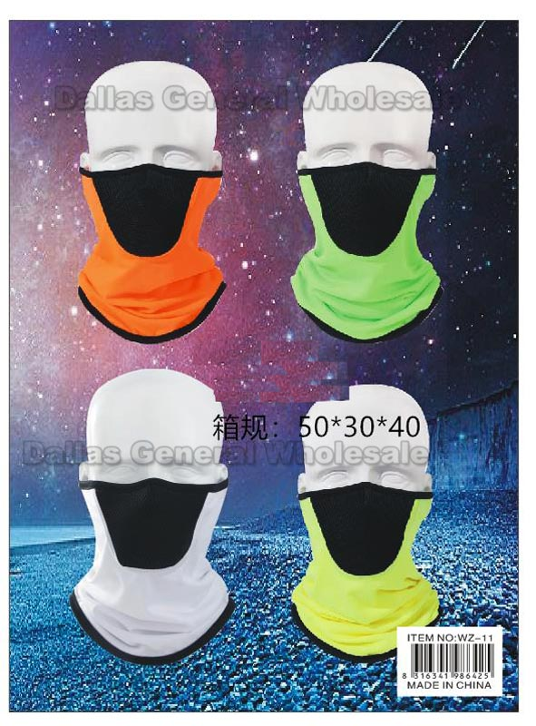 Tube Ninja Masks Balaclava w/ Mouth Guard Wholesale