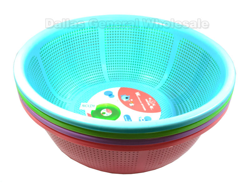 "14"" Round Rinse Baskets Wholesale - Dallas General Wholesale"
