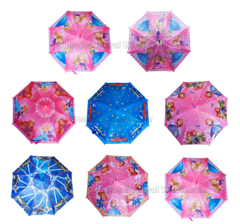 Little Kids Automatic Umbrellas Wholesale - Dallas General Wholesale