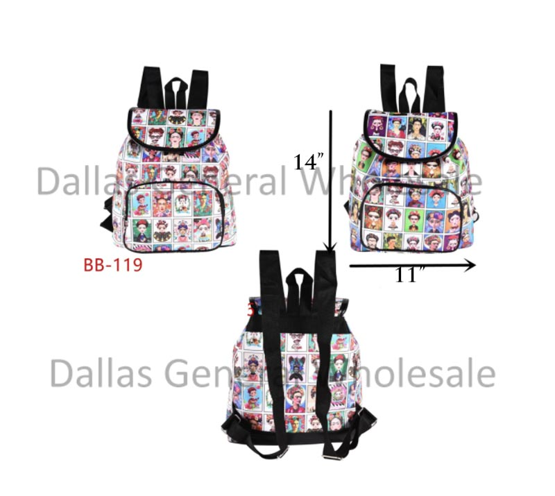 Girls Cultural Backpacks Wholesale