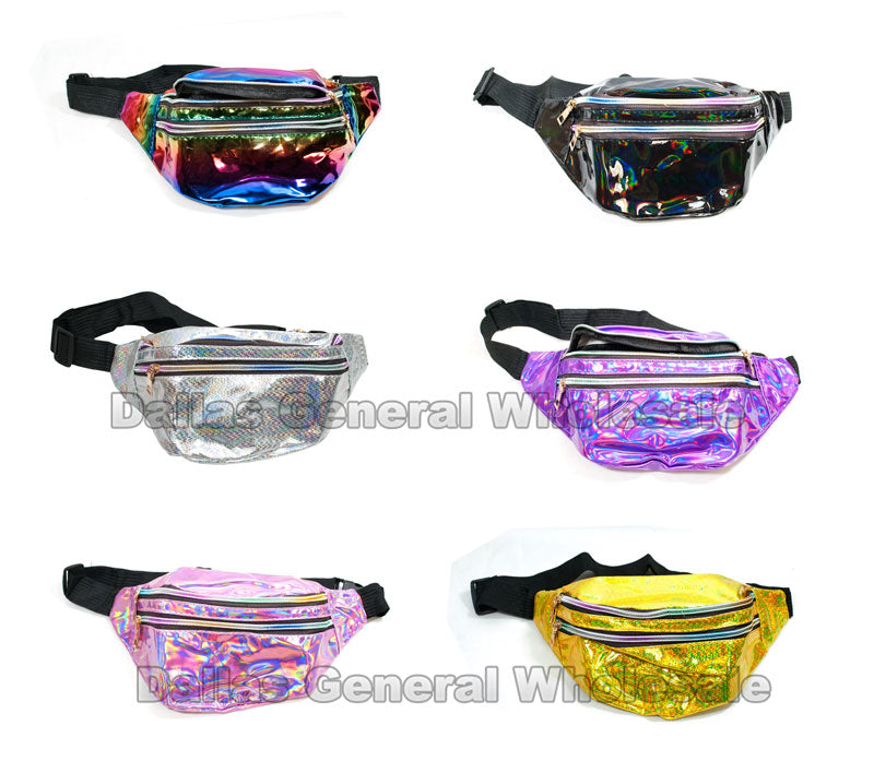 Fashion Metallic Fanny Packs Wholesale - Dallas General Wholesale
