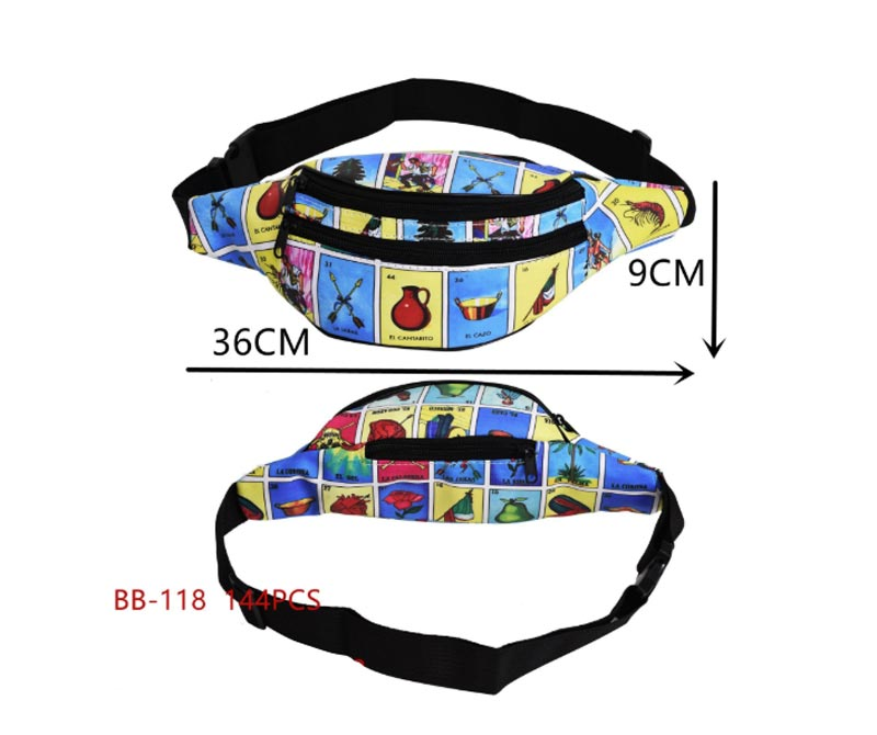 Cultural Loteria Fanny Packs Wholesale