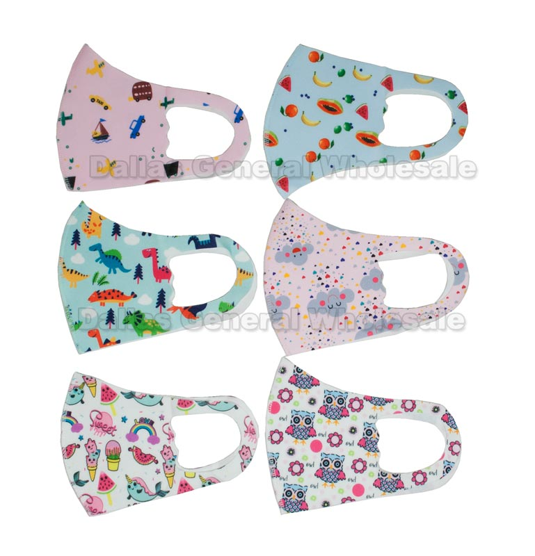 Kids Anti-Pollen Unisex Masks Wholesale