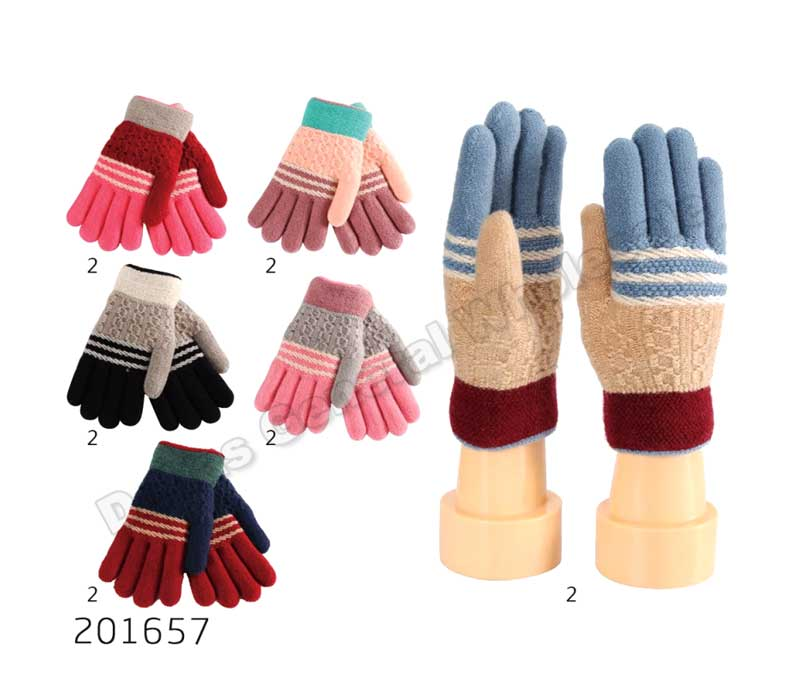 Little Girls Fur Insulated Gloves Wholesale - Dallas General Wholesale