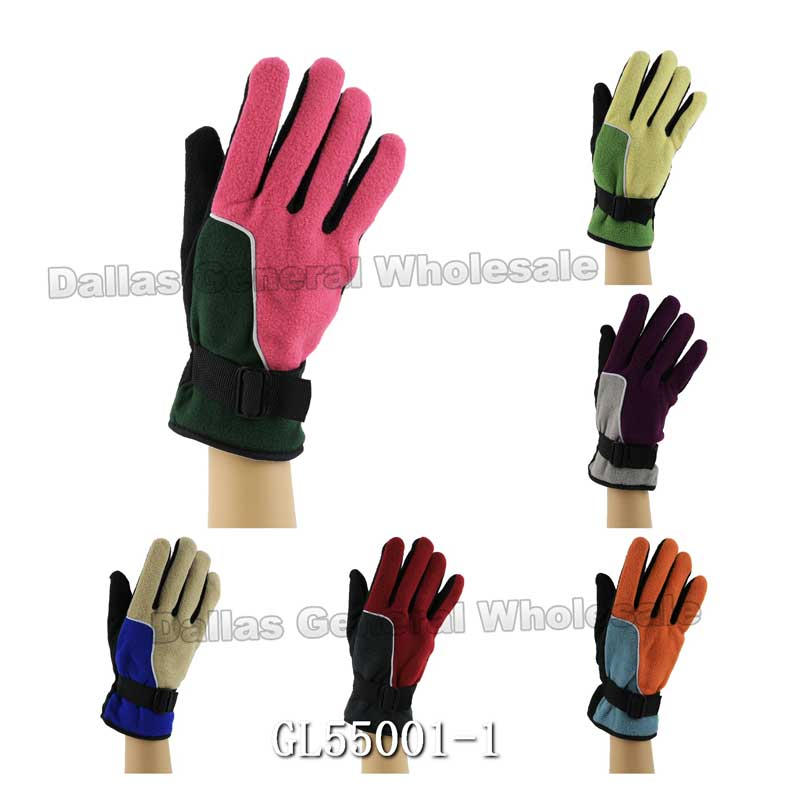 Womens Fleece Gloves Wholesale - Dallas General Wholesale