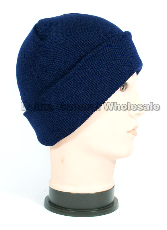Trendy Solid Color Knitted Beanies Wholesale - Dallas General Wholesale