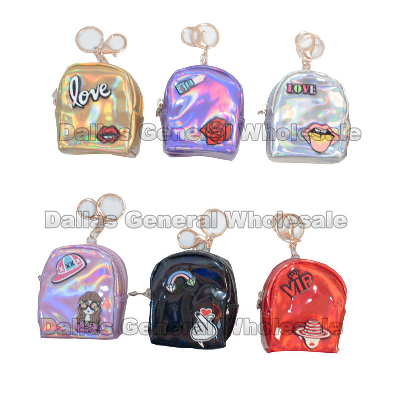 Fancy Design Key Chain Wallets Wholesale - Dallas General Wholesale
