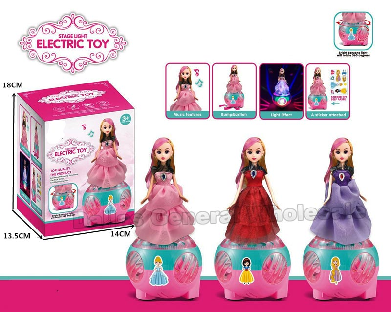 B/O Toy Spinning Angel Dolls Wholesale - Dallas General Wholesale