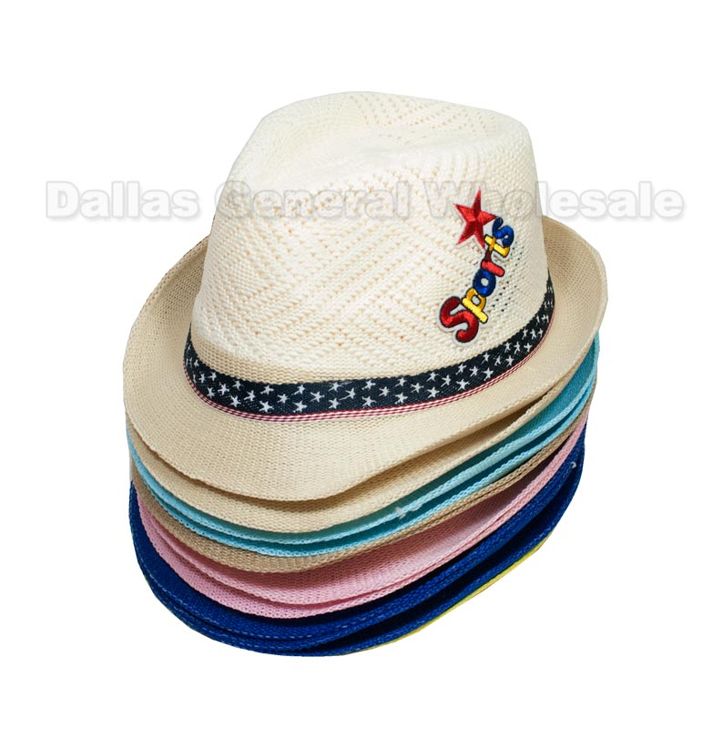 Children Straw Dress Hats Wholesale