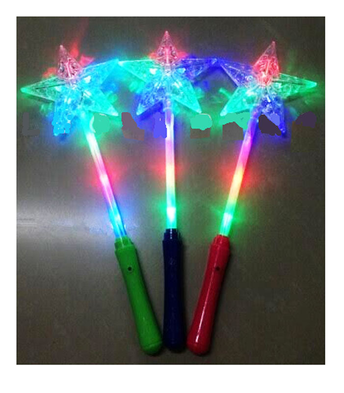 Flashing Light Up Star Wands Wholesale - Dallas General Wholesale