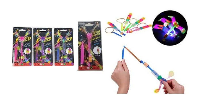 Flashing Light Up Flying Rocket Toys Wholesale - Dallas General Wholesale