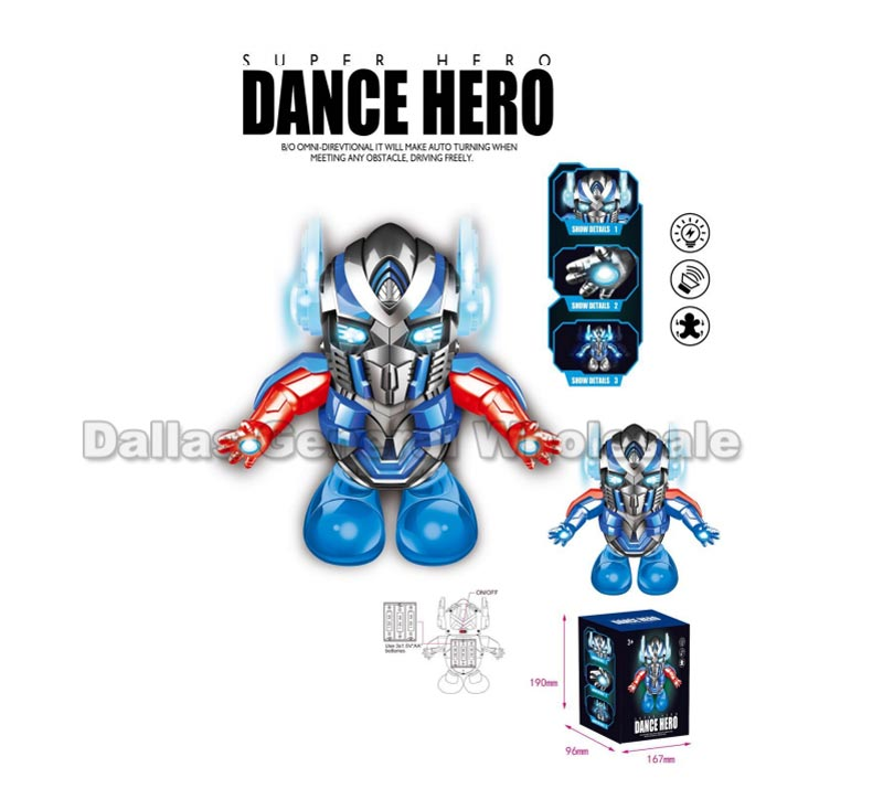 B/O Toy Dancing Robots Wholesale