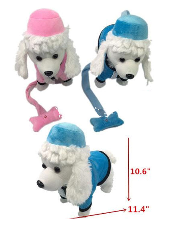 Toy Electronic Walking Barking Poodle Dogs Wholesale - Dallas General Wholesale