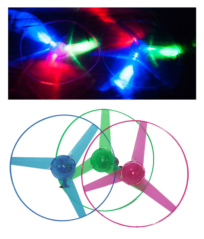 Flashing Light Up UFO Flying Disc Wholesale - Dallas General Wholesale