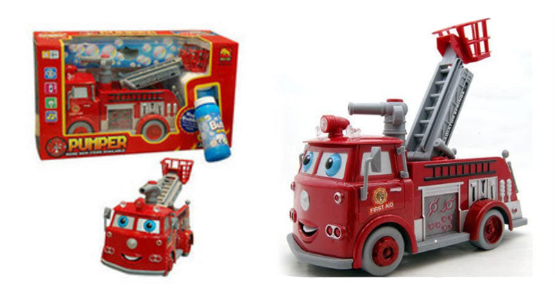 Toy Fire Truck Bubble Blowers Wholesale - Dallas General Wholesale