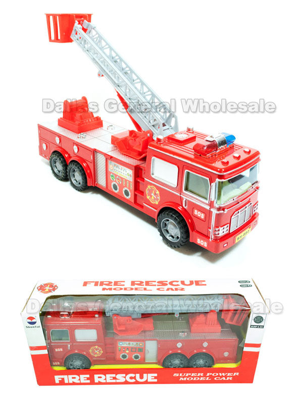 Toy Electronic Fire Trucks Wholesale - Dallas General Wholesale
