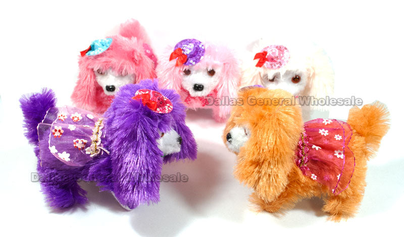 Long Hair Walking Barking Puppy Dogs Wholesale - Dallas General Wholesale