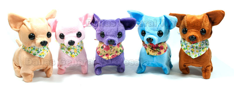 Toy Walking Barking Chihuahua Dogs Wholesale - Dallas General Wholesale