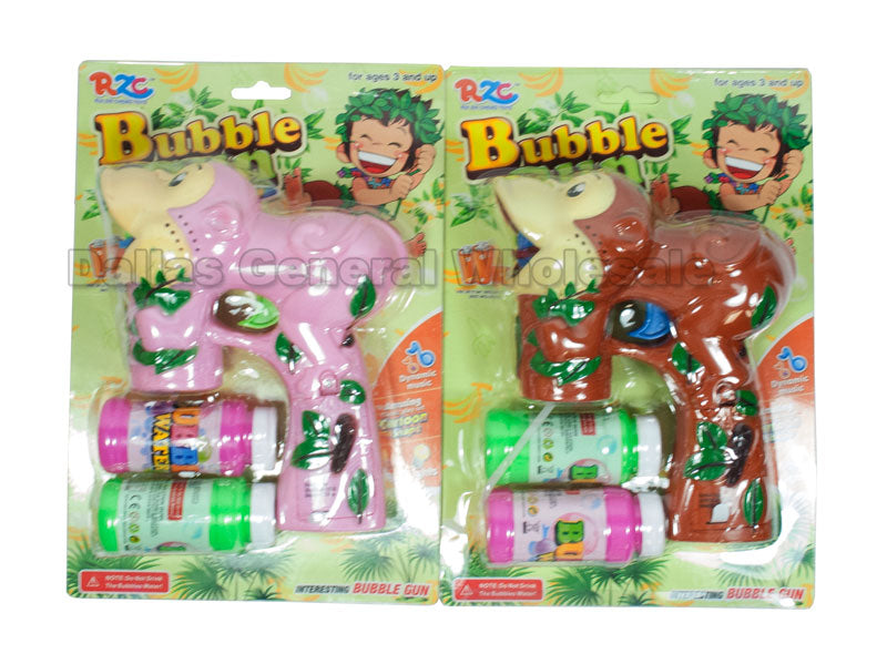 Monkey Bubble Blaster Guns Wholesale - Dallas General Wholesale