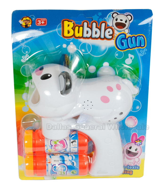 Music Light Up Bear Bubble Guns Wholesale - Dallas General Wholesale