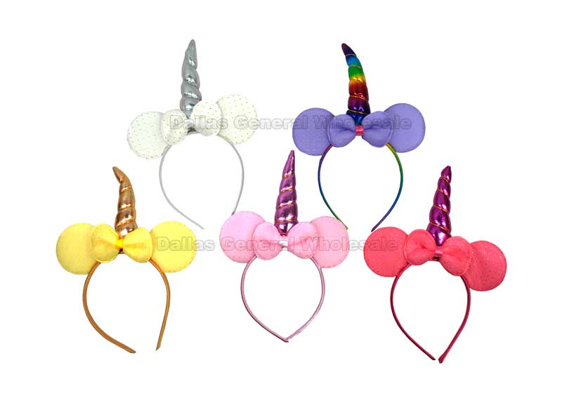 Unicorn Ear Headbands Wholesale - Dallas General Wholesale