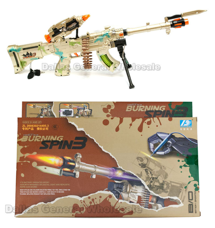 Toy Military Machine Guns Wholesale - Dallas General Wholesale