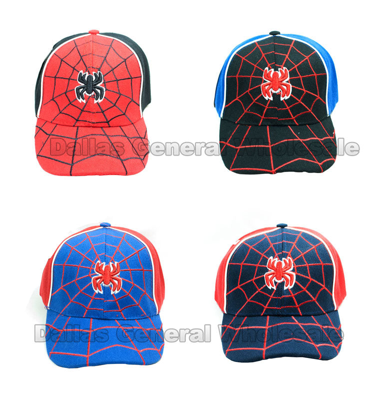 Boys Spider Caps Wholesale - Dallas General Wholesale