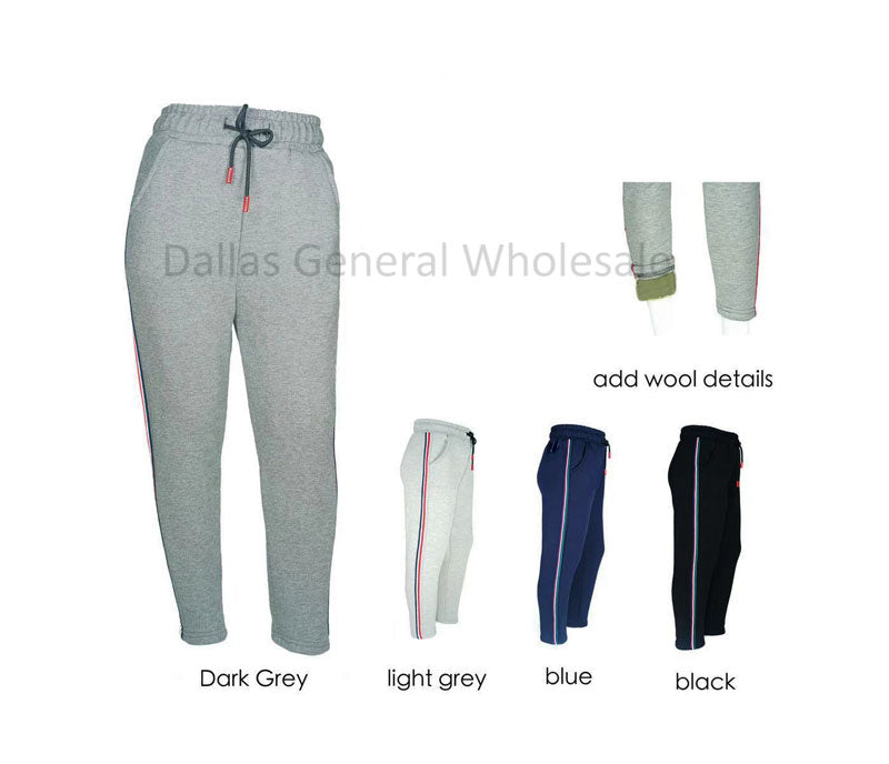 Kids Casual Thermal Track Pants Wholesale