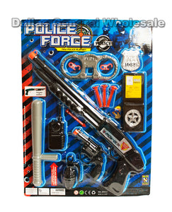 Pretend Play Plastic Police Play Sets Wholesale - Dallas General Wholesale