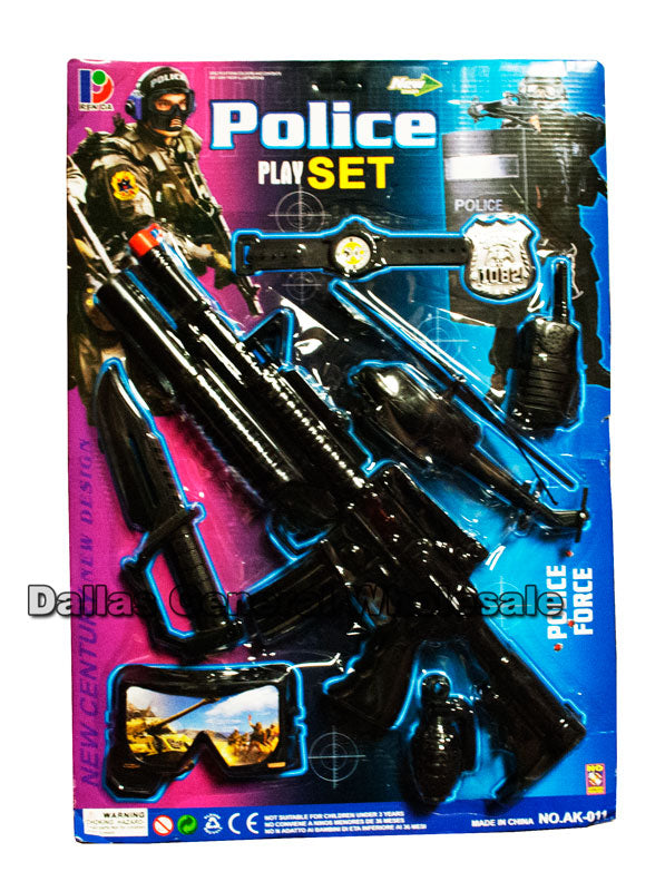 Pretend Play Toy Police Play Set Wholesale - Dallas General Wholesale