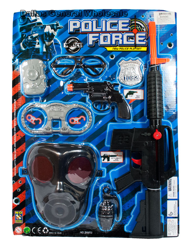 Toy Pretend Play Police Play Sets Wholesale - Dallas General Wholesale