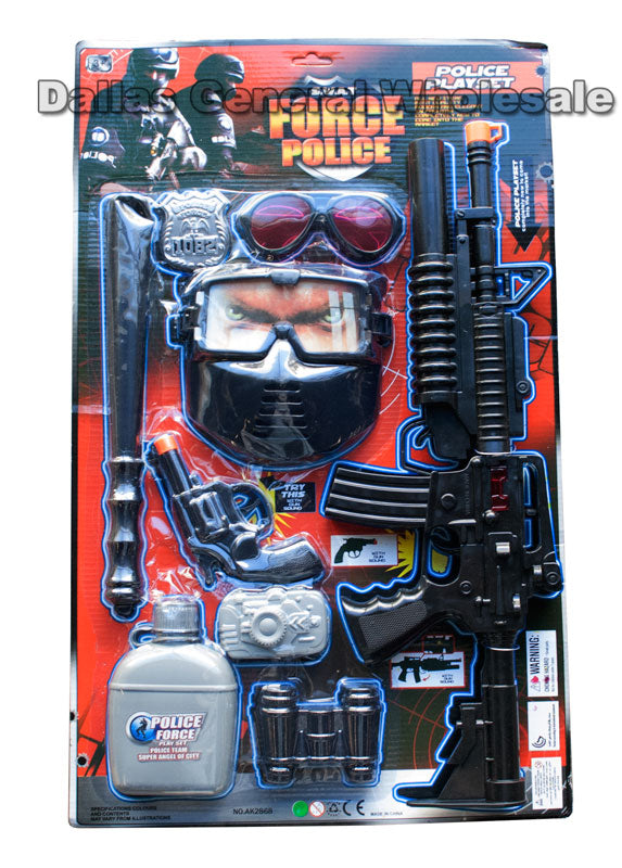 Pretend Play Police Force Play Set Wholesale - Dallas General Wholesale