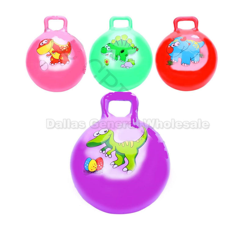 Large Dinosaurs Bounce Balls Wholesale - Dallas General Wholesale
