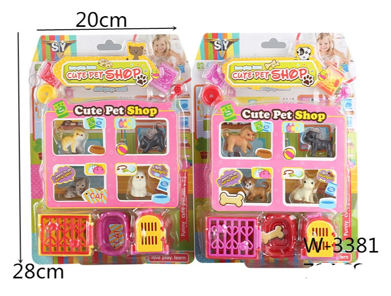 Pet Shop Play Set Wholesale - Dallas General Wholesale