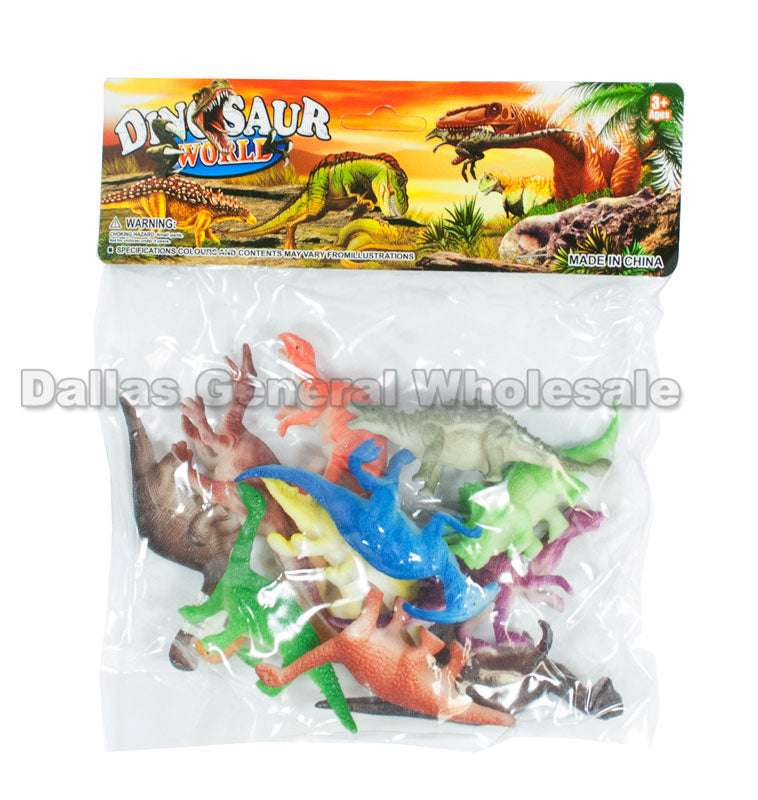 12 PC Miniature Dinosaurs Play Set Wholesale - Dallas General Wholesale
