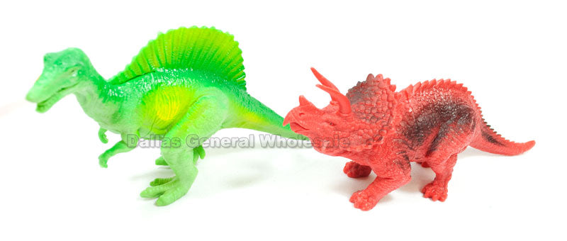 6 PC Miniature Dinosaurs Play Set Wholesale - Dallas General Wholesale