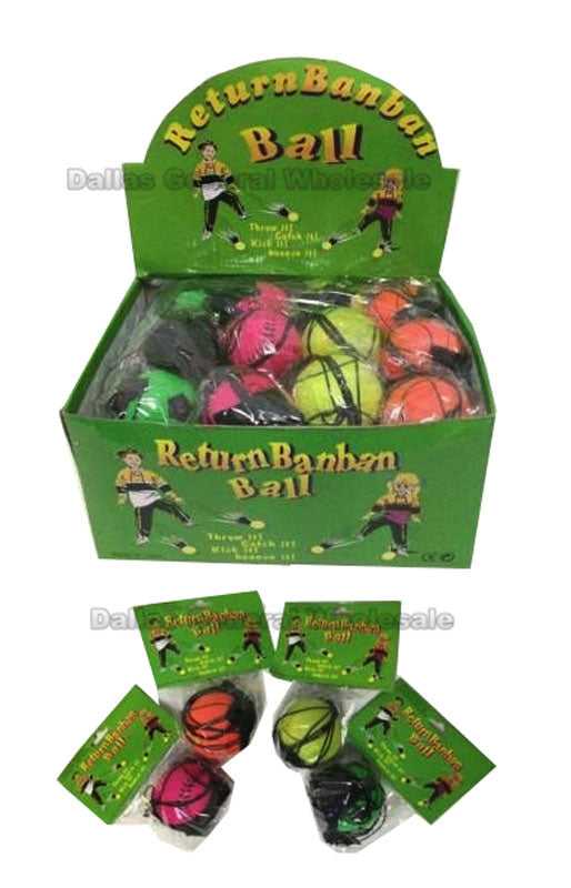 Bouncing Return Hand Balls Wholesale - Dallas General Wholesale
