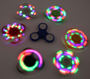 LED Light Up Flashing Fidget Hand Spinners Wholesale - Dallas General Wholesale