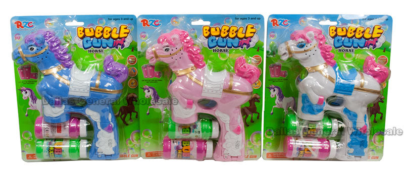 Pony Bubble Blaster Guns Wholesale - Dallas General Wholesale