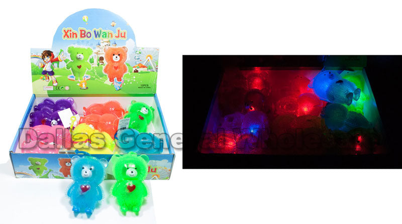 Bear Flashing Light Up Yoyo Balls Wholesale - Dallas General Wholesale