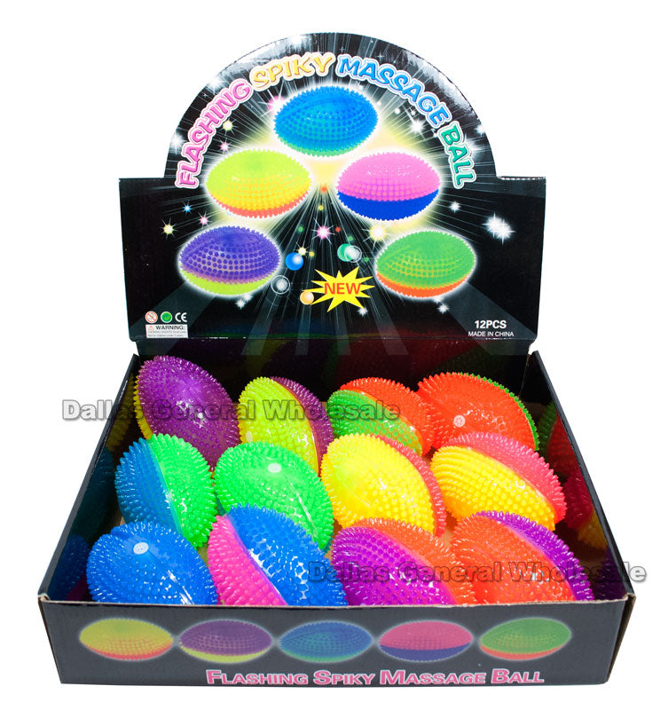 Flashing Light Up Squeezable Football Wholesale - Dallas General Wholesale
