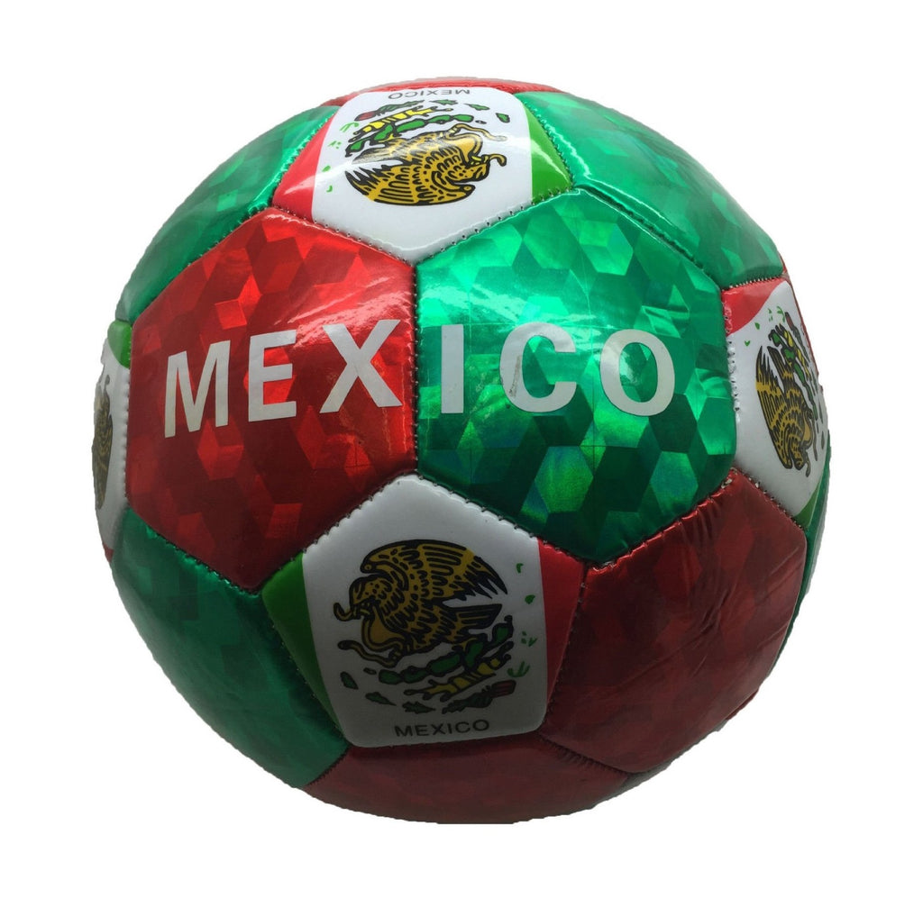 Kids Mexico Print Soccer Balls Wholesale - Dallas General Wholesale