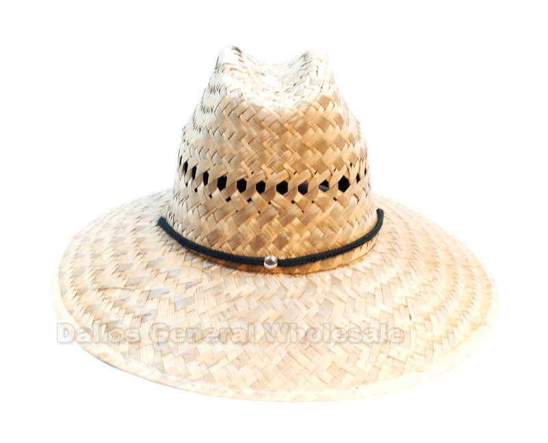Kids Summer Straw Hats Wholesale - Dallas General Wholesale