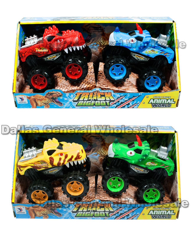 Toy Friction Monster Trucks Wholesale - Dallas General Wholesale