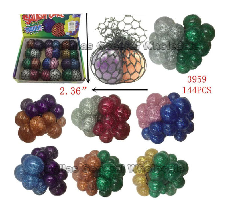 Squishy Mesh Balls Wholesale - Dallas General Wholesale