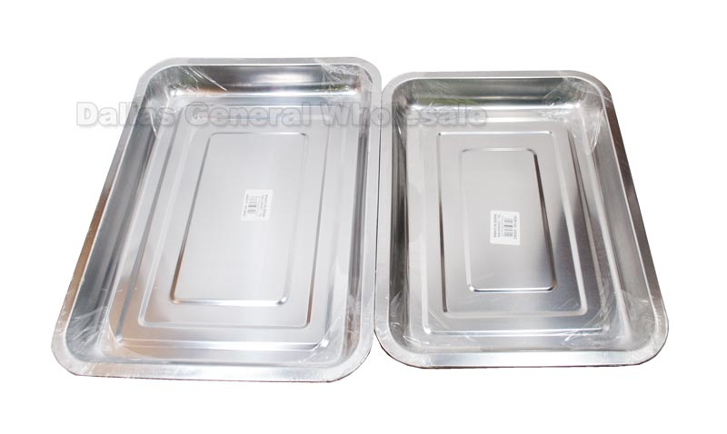 Stainless Steel Cafeteria Style Trays Wholesale