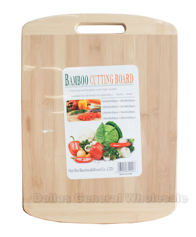 "16"" Long Bamboo Cutting Boards Wholesale - Dallas General Wholesale"